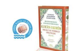 Türkçe Mealli Kuran-ı Kerim Dağıtımı