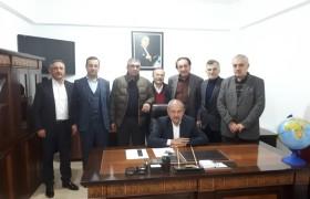 Vakıf Kurucu Başkanımız ve E.Gürpınar Belediye Başkanı Velittin Küçük Vakfımızın Ordu Temsilciliğini Ziyaret Etti